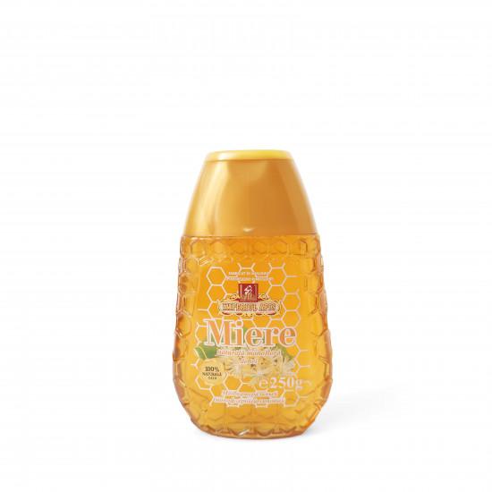 Linden honey in sqeeze bottles